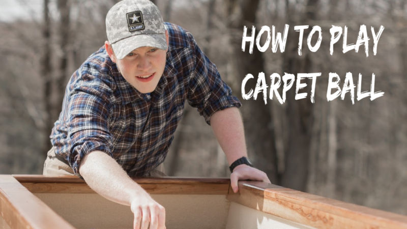 How to Play Carpet Ball