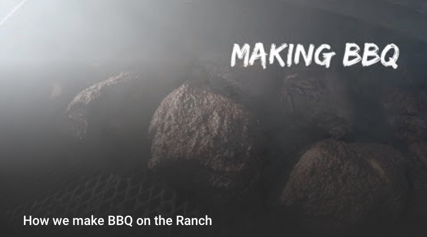 Making BBQ on the Ranch