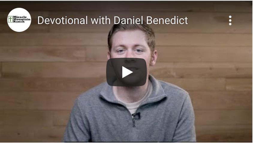 Devotional with Daniel Benedict